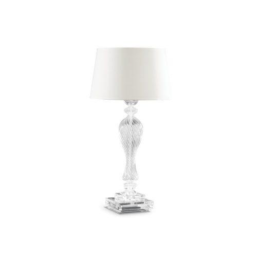 Ideal Lux Asztali lámpa VOGA TL1 BIANCO 001180