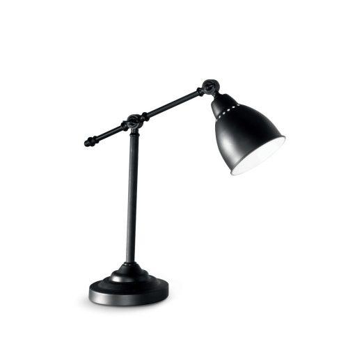 Ideal Lux Asztali lámpa NEWTON TL1 NERO 003535