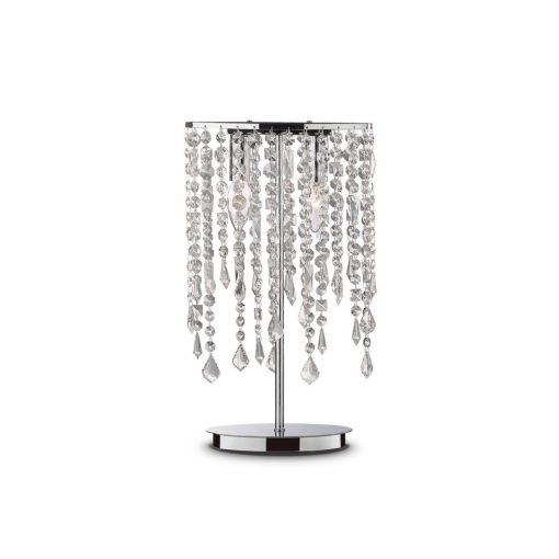 Ideal Lux Asztali lámpa RAIN TL2 TRASPARENTE 008356