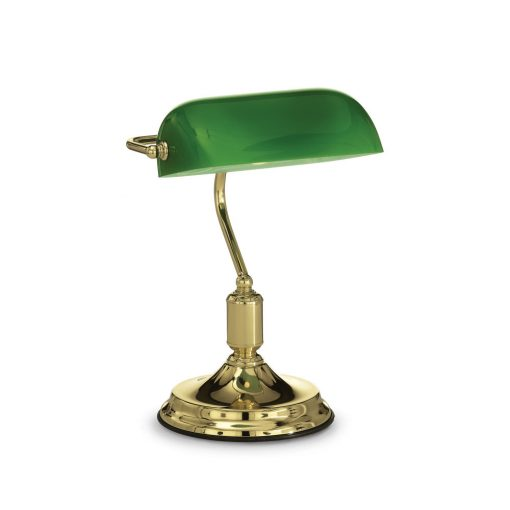 Ideal Lux Asztali lámpa LAWYER TL1 OTTONE 013657