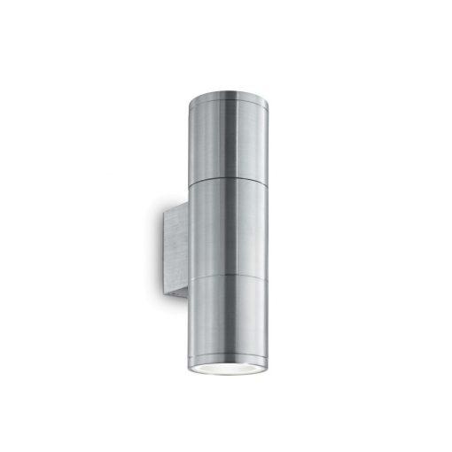 Ideal Lux Kültéri fali lámpa GUN AP2 SMALL ALLUMINIO 033013