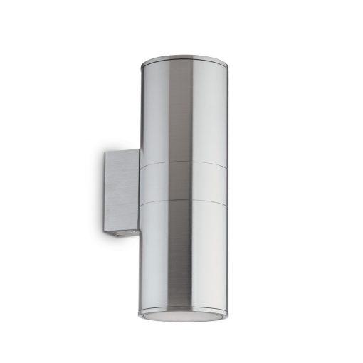 Ideal Lux Kültéri fali lámpa GUN AP2 BIG ALLUMINIO 033020