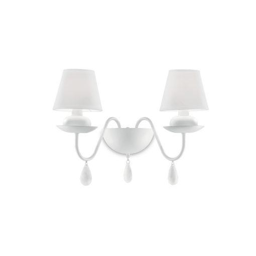 Ideal Lux Fali lámpa BLANCHE AP2 BIANCO 035598