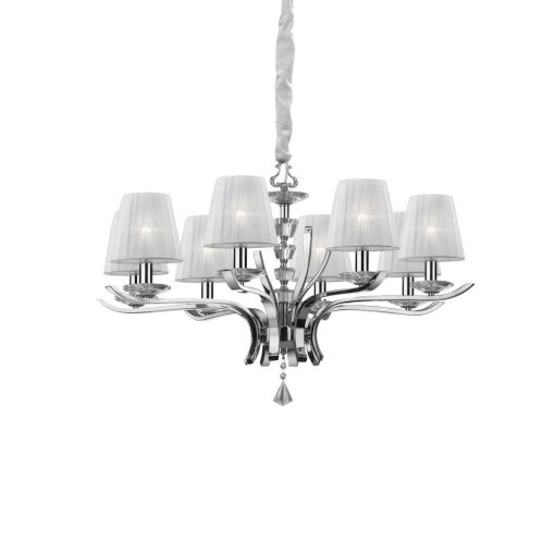 Ideal Lux Csillár PEGASO SP8 BIANCO 059242