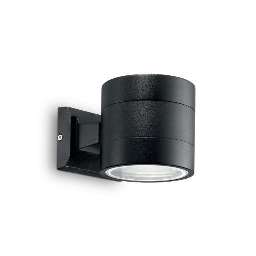 Ideal Lux Kültéri fali lámpa SNIF ROUND AP1 NERO 061450