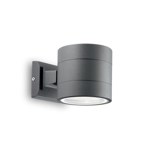 Ideal Lux Kültéri fali lámpa SNIF ROUND AP1 ANTRACITE 061467