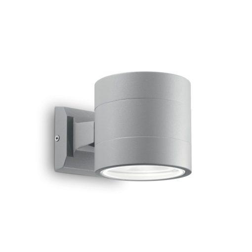 Ideal Lux Kültéri fali lámpa SNIF ROUND AP1 GRIGIO 061474