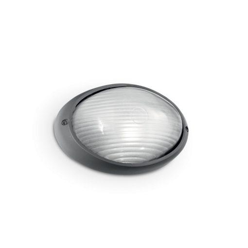 Ideal Lux Kültéri fali lámpa MIKE AP1 SMALL ANTRACITE 061788