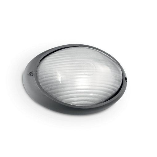 Ideal Lux Kültéri fali lámpa MIKE AP1 BIG ANTRACITE 061818