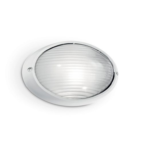 Ideal Lux Kültéri fali lámpa MIKE AP1 BIG BIANCO 066882