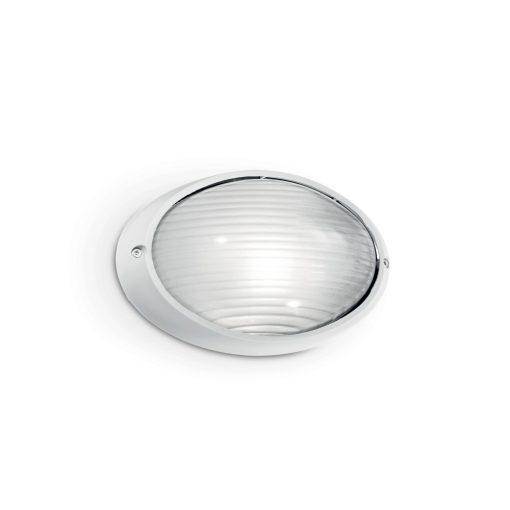 Ideal Lux Kültéri fali lámpa MIKE AP1 SMALL BIANCO 066899