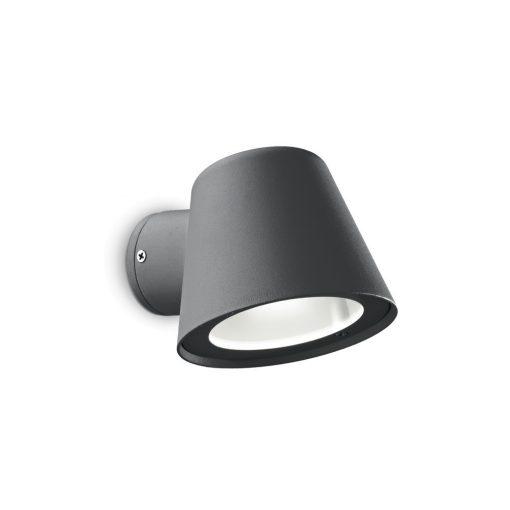 Ideal Lux Kültéri fali lámpa GAS AP1 ANTRACITE 091525