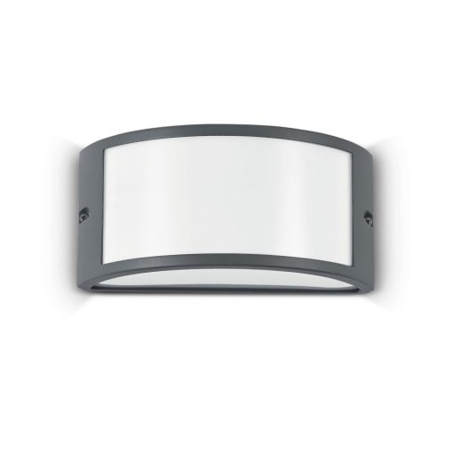 Ideal Lux Kültéri fali lámpa REX-1 AP1 ANTRACITE 092409
