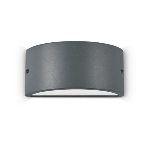 Ideal Lux Kültéri fali lámpa REX-2 AP1 ANTRACITE 092423
