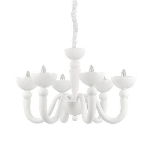 Ideal Lux Csillár BON BON SP6 BIANCO 093994