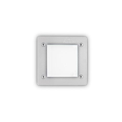 Ideal Lux Kültéri falba süllyesztett lámpa LETI PT1 SQUARE BIANCO 096575