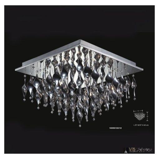 Illuminati Mennyezeti lámpa 100501X2-12 CAMPANULO