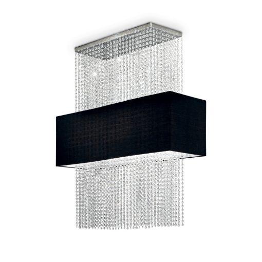 Ideal Lux Csillár PHOENIX SP5 NERO 101163