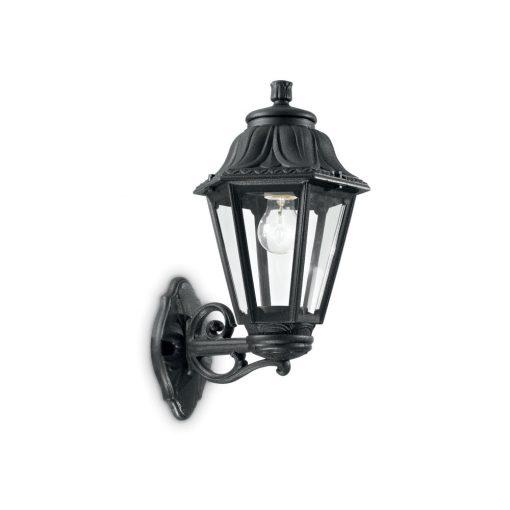 Ideal Lux Kültéri fali lámpa  ANNA AP1 BIG NERO 101491