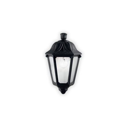 Ideal Lux Kültéri fali lámpa  ANNA AP1 SMALL NERO 101552