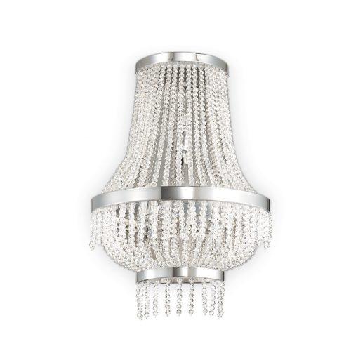 Ideal Lux Fali lámpa  AUGUSTUS AP3 CROMO 112817
