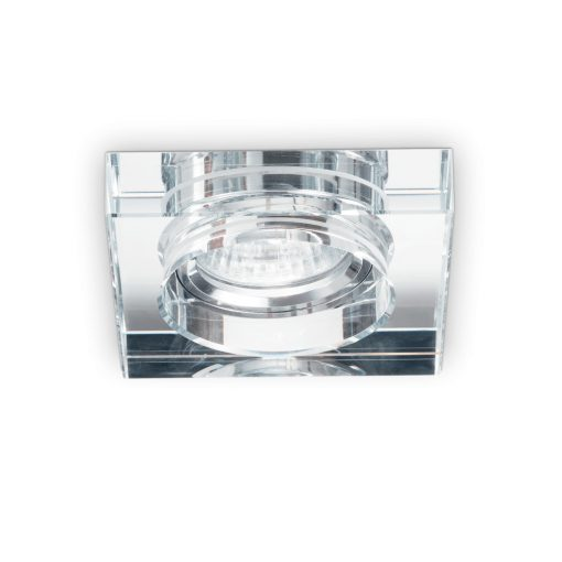 Ideal Lux Beépíthető spot lámpa BLUES SQUARE TRASPARENTE 114019