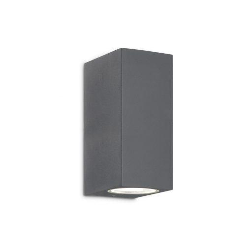 Ideal Lux Kültéri fali lámpa UP AP2 ANTRACITE 115337