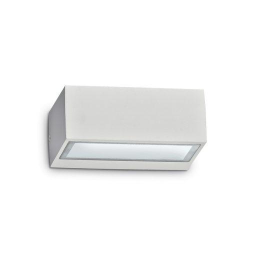 Ideal Lux Kültéri fali lámpa TWIN AP1 BIANCO 115351