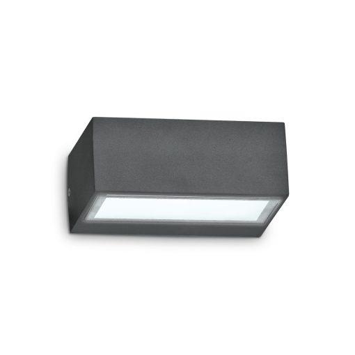 Ideal Lux Kültéri fali lámpa TWIN AP1 ANTRACITE 115368