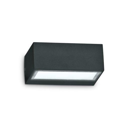 Ideal Lux Kültéri fali lámpa TWIN AP1 NERO 115375