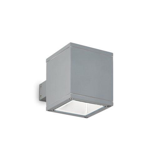 Ideal Lux Kültéri fali lámpa SNIF SQUARE AP1 GRIGIO 118666