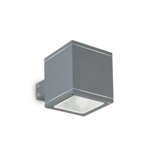 Ideal Lux Kültéri fali lámpa SNIF SQUARE AP1 ANTRACITE 121963