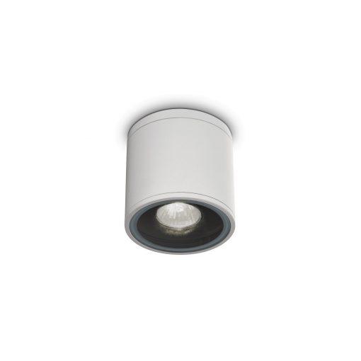 Ideal Lux Kültéri mennyezeti lámpa GUN PL1 BIANCO 122663
