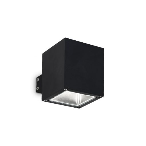 Ideal Lux Kültéri fali lámpa SNIF SQUARE AP1 NERO 123080