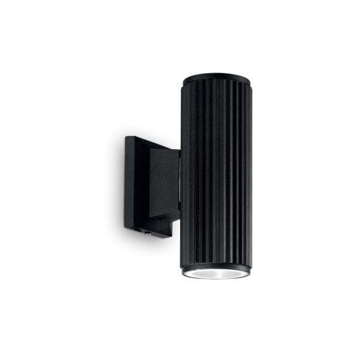 Ideal Lux Kültéri fali lámpa BASE AP2 NERO 129433