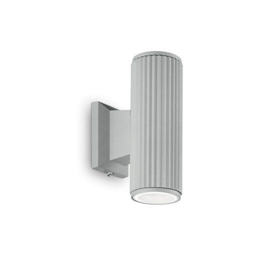 Ideal Lux Kültéri fali lámpa BASE AP2 GRIGIO 129440