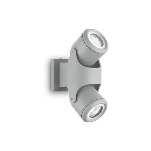 Ideal Lux Kültéri fali lámpa XENO AP2 GRIGIO 129518