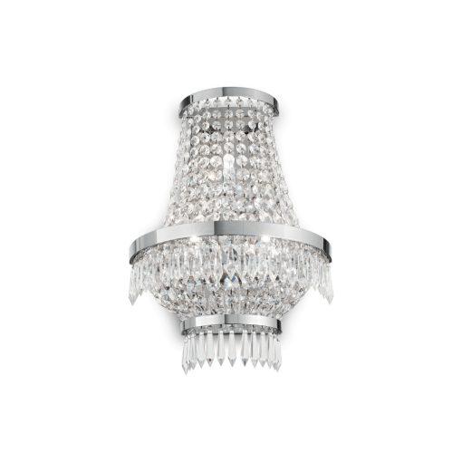 Ideal Lux Fali lámpa CAESAR AP3 CROMO 137698