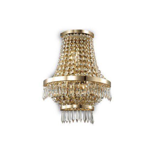 Ideal Lux Fali lámpa CAESAR AP3 ORO 137704