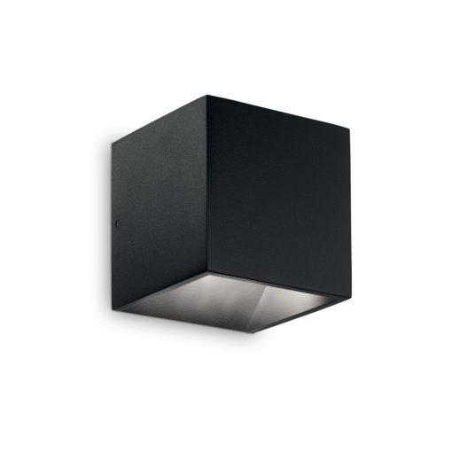 Ideal Lux Kültéri fali lámpa RUBIK AP1 NERO 4000K 142302