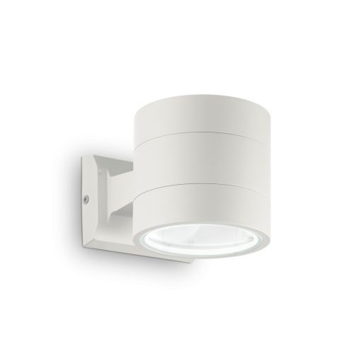 Ideal Lux Kültéri fali lámpa SNIF ROUND AP1 BIANCO 144283