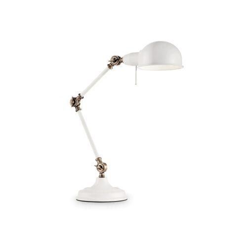 Ideal Lux Asztali lámpa TRUMAN TL1 BIANCO 145198