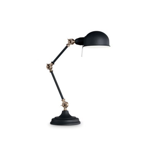 Ideal Lux Asztali lámpa TRUMAN TL1 NERO 145211