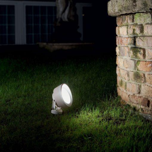 Ideal Lux Kültéri fali lámpa TOMMY PT1 BIANCO 145310