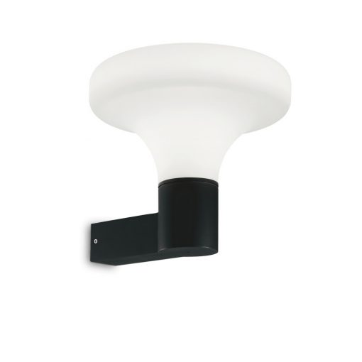 Ideal Lux Kültéri fali lámpa SOUND AP1 NERO 146546