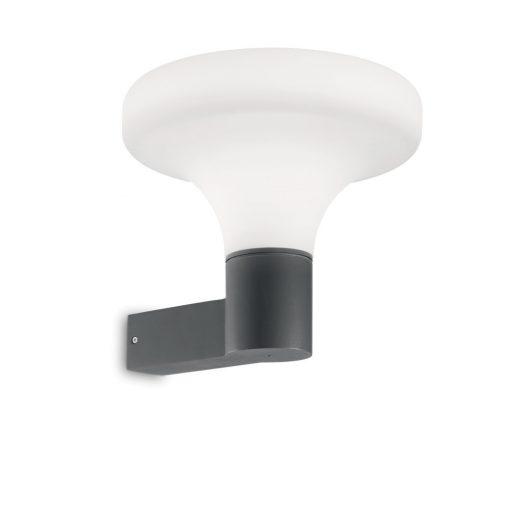 Ideal Lux Kültéri fali lámpa SOUND AP1 ANTRACITE 146553