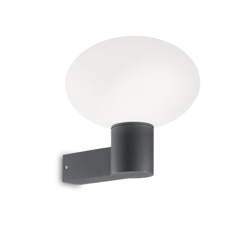 Ideal Lux Kültéri fali lámpa  ARMONY AP1 ANTRACITE 147291