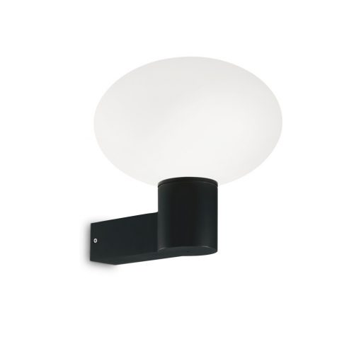 Ideal Lux Kültéri fali lámpa  ARMONY AP1 NERO 147307
