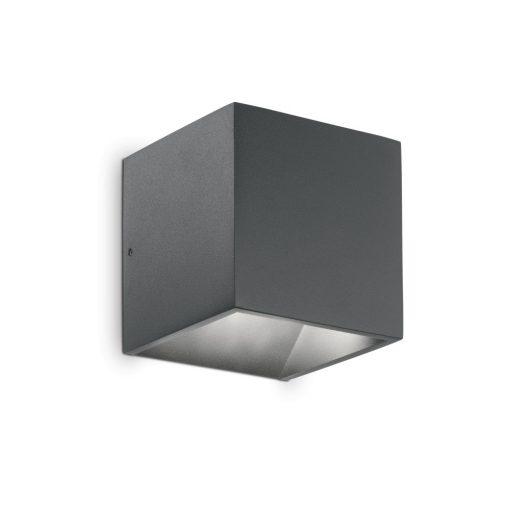 Ideal Lux Kültéri fali lámpa RUBIK AP1 ANTRACITE 4000K 149738