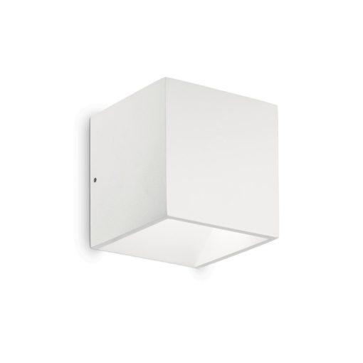 Ideal Lux Kültéri fali lámpa RUBIK AP1 BIANCO 4000K 149745